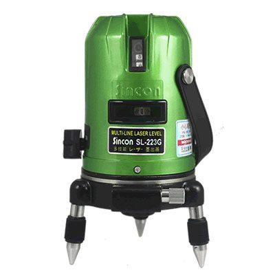 Máy cân mực Laser tia xanh Sincon SL 223G