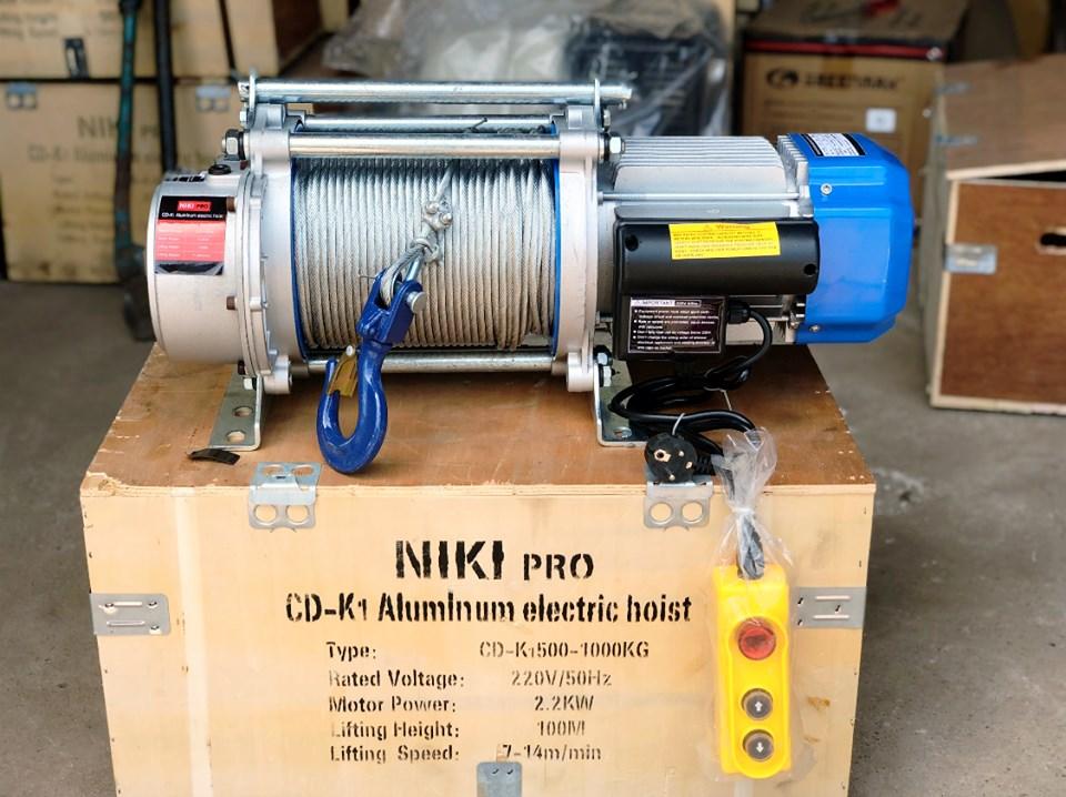 Tời điện đa năng Niki KCD giá rẻ