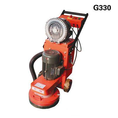 Máy mài sàn bê tông có hút bụi G330 (4KW)