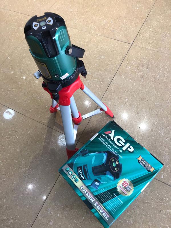 Máy cân bằng laser 5 tia AGP RV5