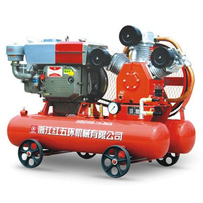 Máy nén khí W2.8/5 đầu nổ diesel D20 (15KW)
