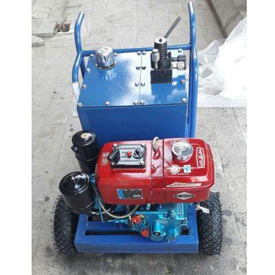 Máy tách đá thủy lực chạy dầu Diesel DE9 (4HP)